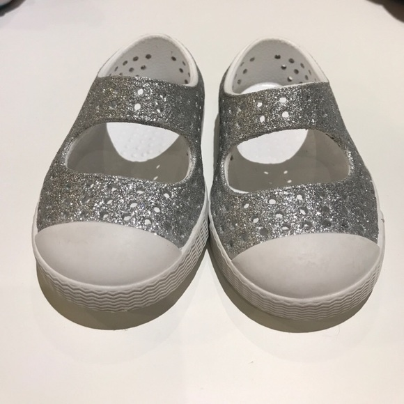 f9cadad7f0d Native Shoes Juniper Bling Perforated Mary Jane. M_5b4a066803087c210bf45b87